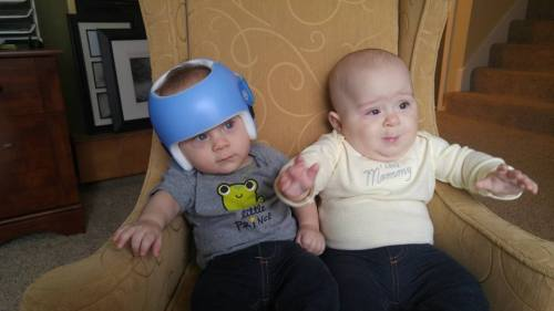 Babies in Chair