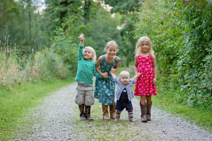 Baby standing. M+G's kids copy