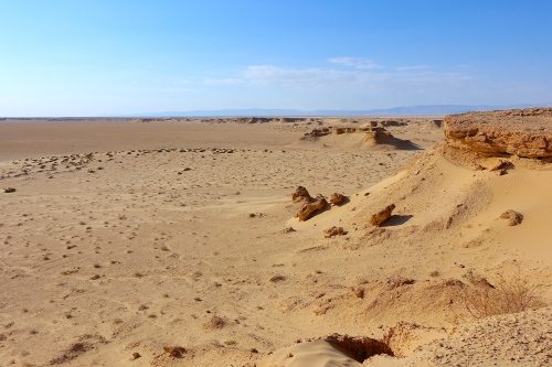 Barren Land. Tunisia