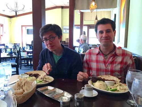 Birthday Dinner at Zeytin's