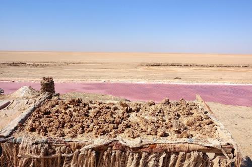 Desert Roses Chott el Djerid. Tunisia