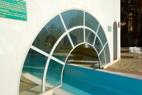 Door for swimming pool