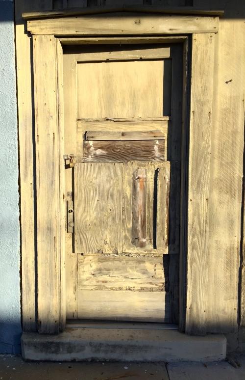 Door. Old
