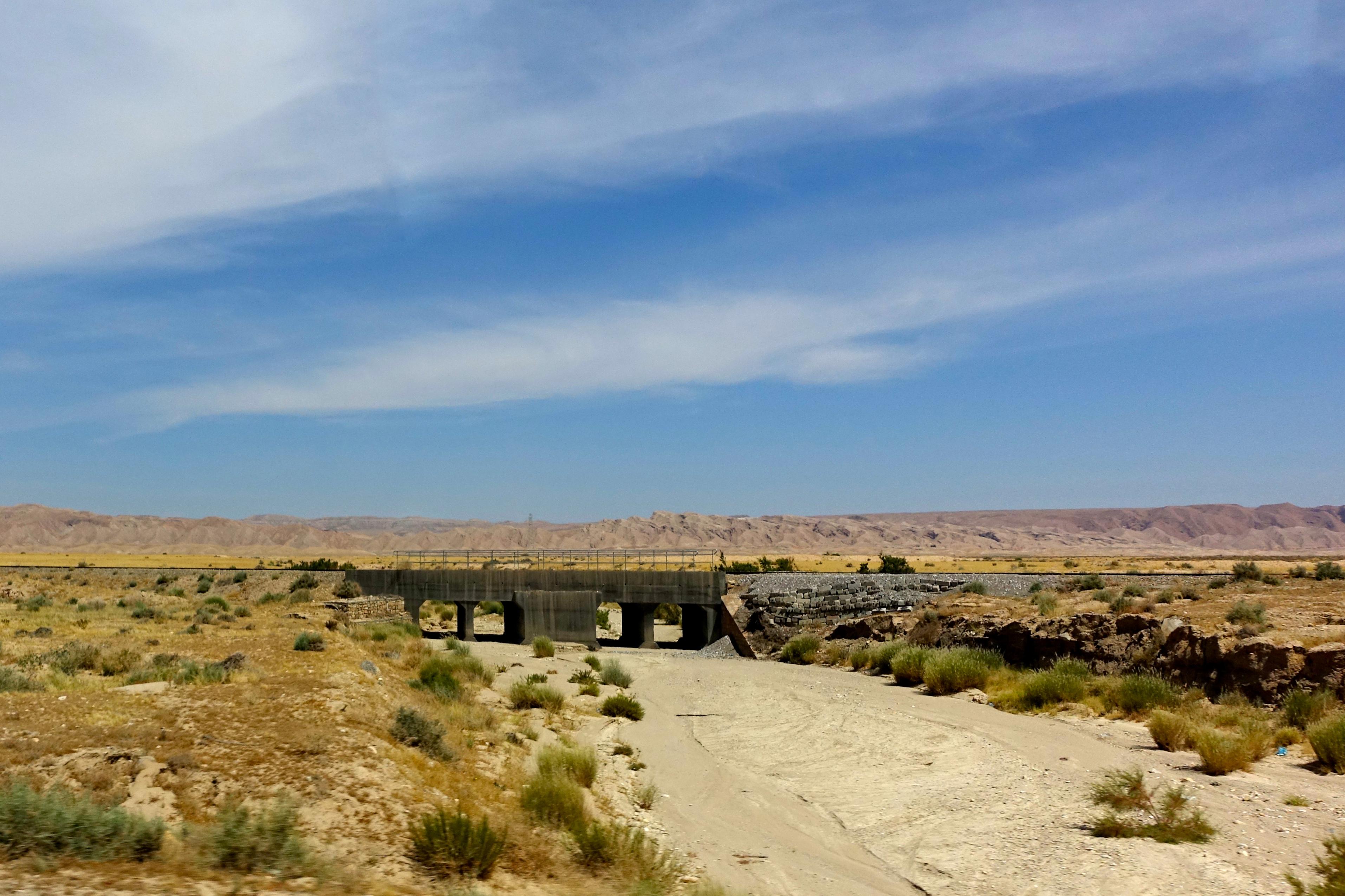 Dry River Bed. Tunisia