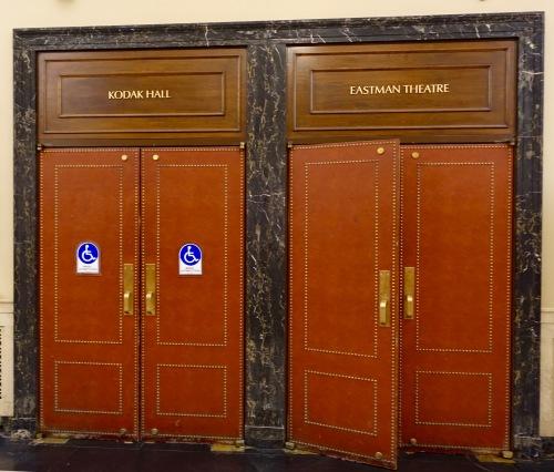 Eastman Theater Doors