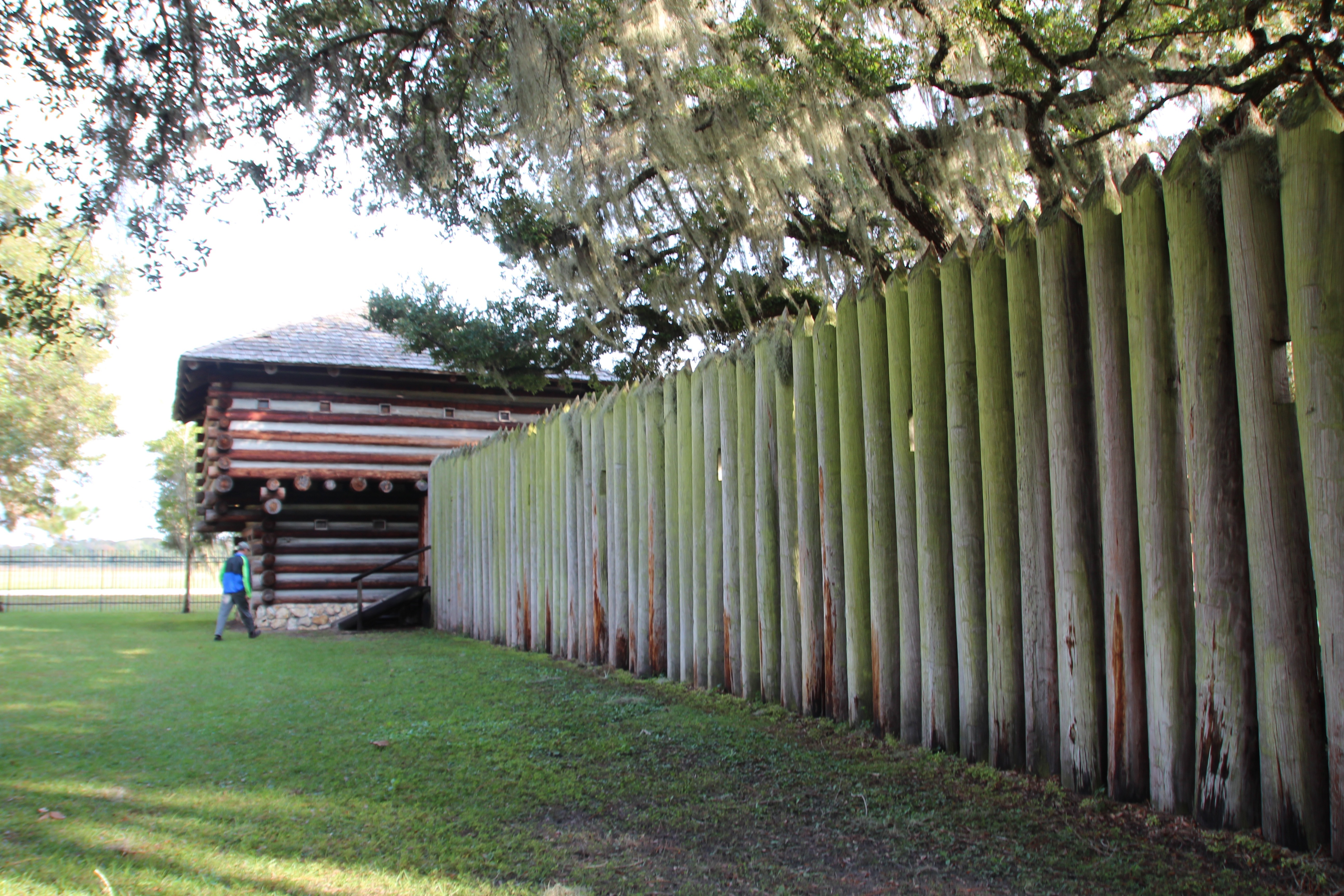 Fort Christmas Historical Park | Summer Setting
