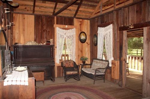 Fort Christmas LIving room
