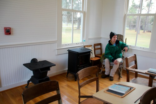Fort Christmas School room and Interpreter