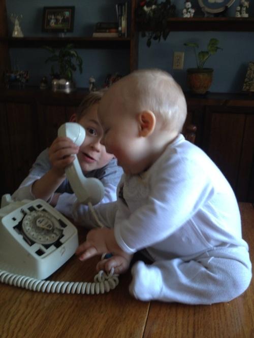 Giles on Telephone