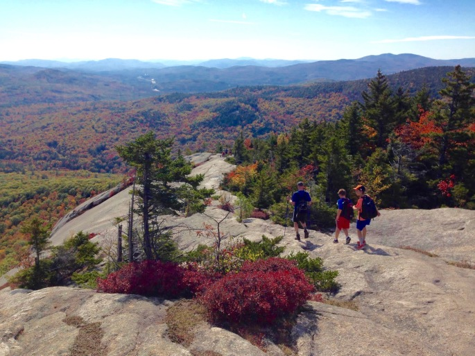 Hiking in White Mountains