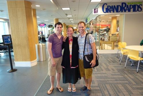 Joel, Mom, Mike