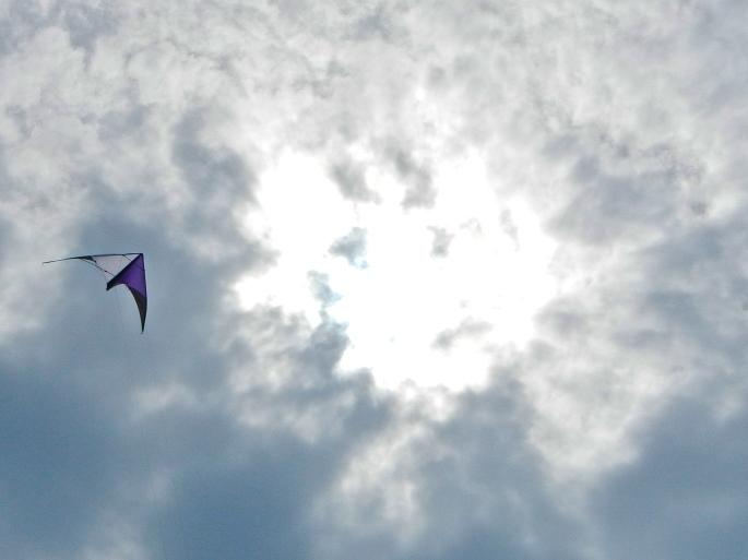 Kite and Angel Cloud