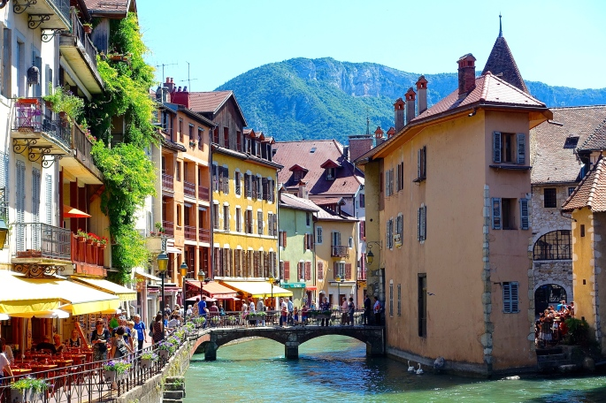 Annecy. Venice of the Alps