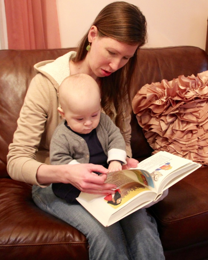 Bible Story Book Reading to Baby