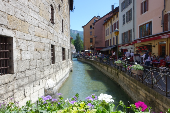 Canal through Annecy France