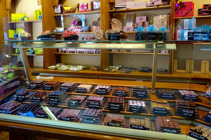 Chocolate Shop in Annecy