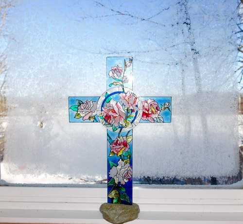 Cross in Window