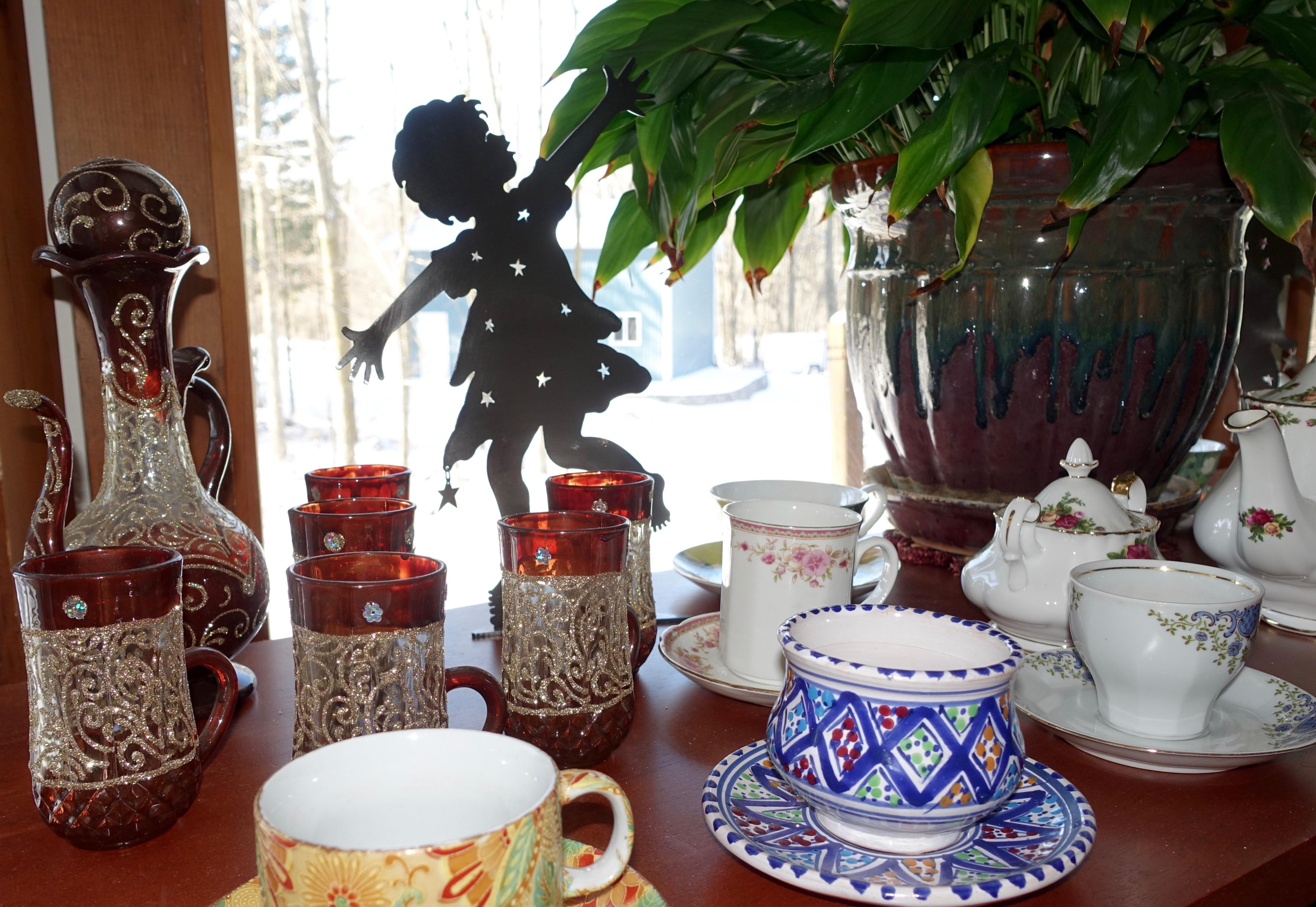 Exotic Tea Cups