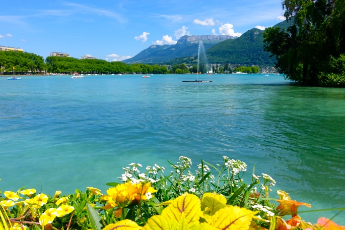 Lake Annecy Jardins de l'Europe