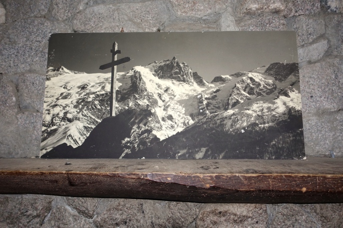 Picture of Alps above Mantel