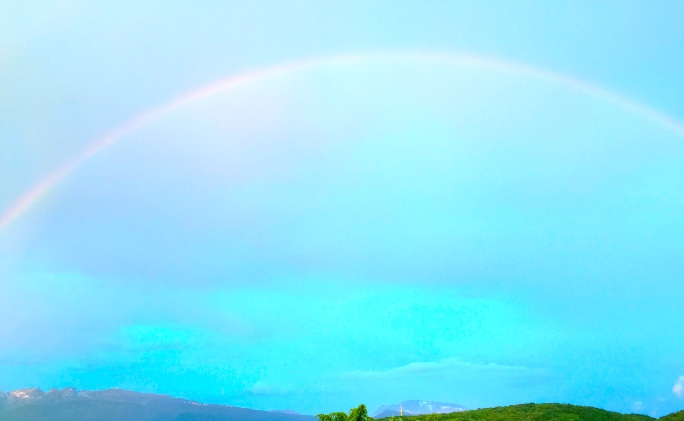 Rainbow in France