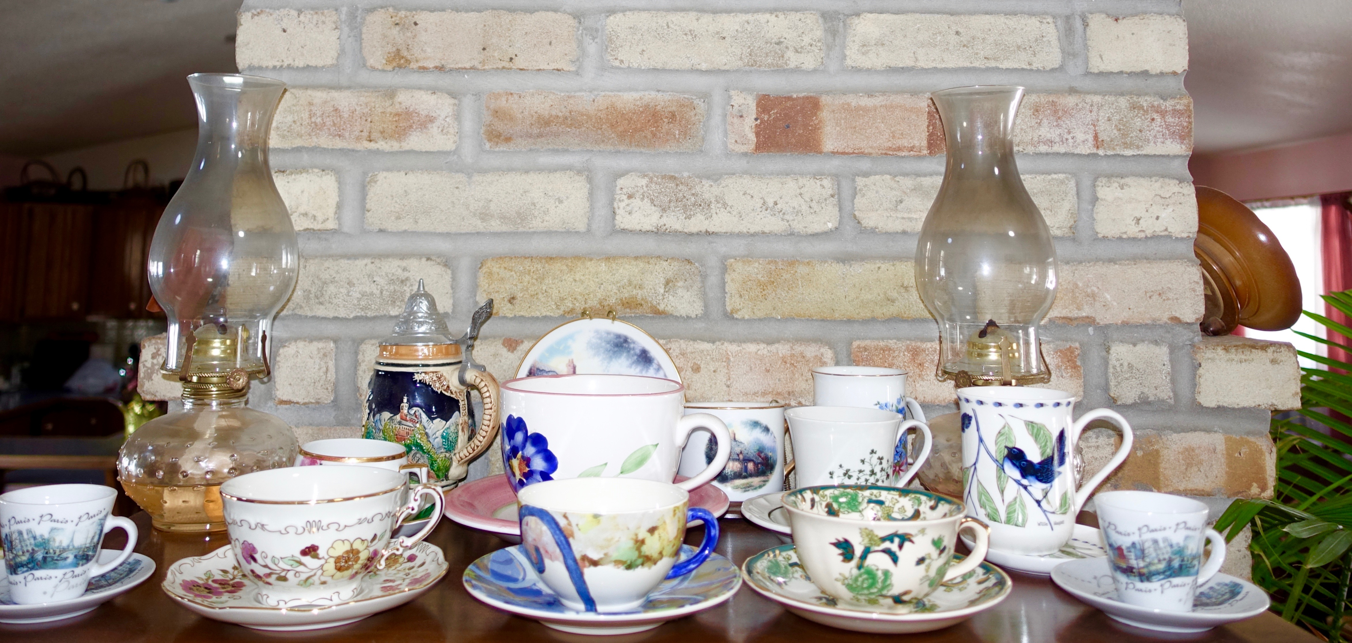 Teacups from Europe