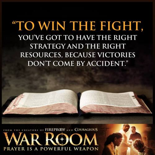 To Win the Fight War Room