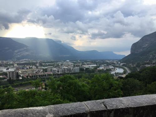 View from Top of Bastille in Grenoble. Paul Wiersma