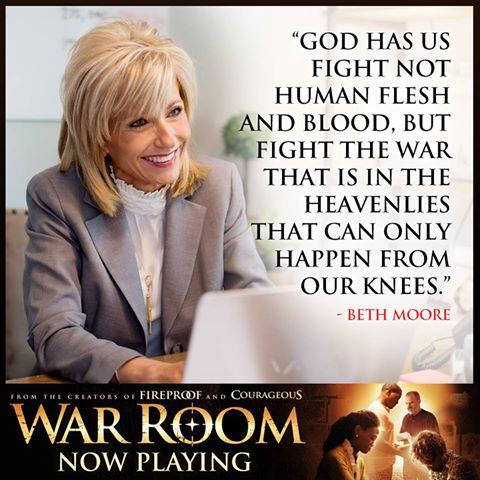 War Room Beth Moore Quote