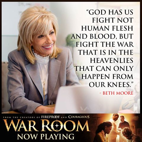 War Room Beth Moore Quote