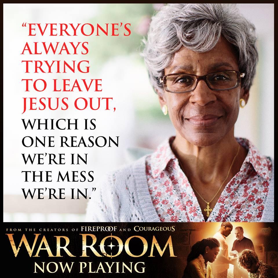 War Room. Keep Jesus In