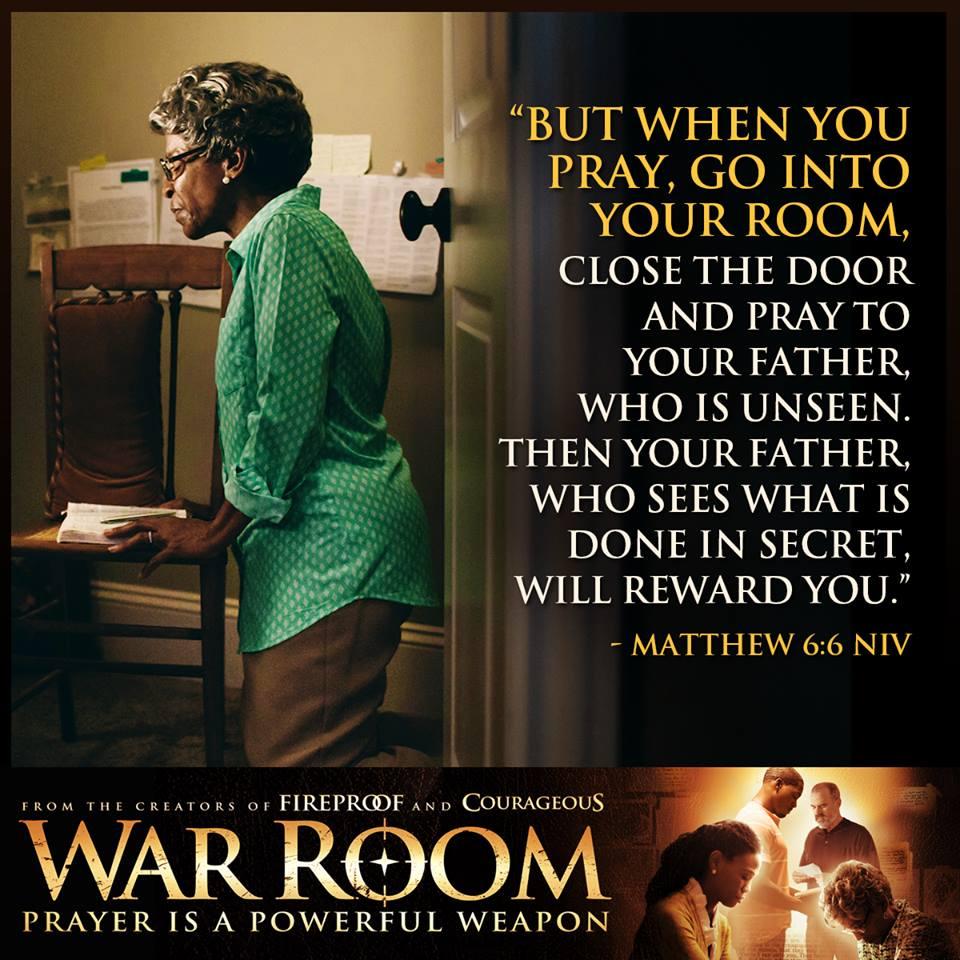 War Room Matthew 6.6