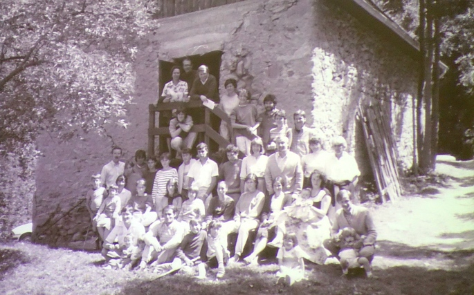 Workers at Camp des Cimes