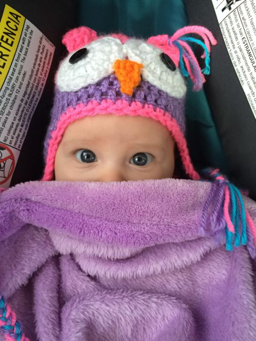 Baby bundled up for Outing