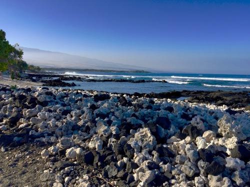 Coral and Cinder Beach Big Island