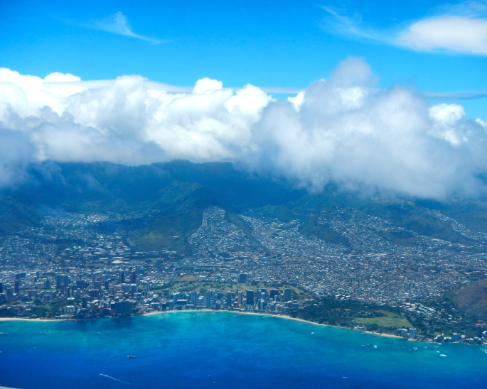 Hawaii from the air
