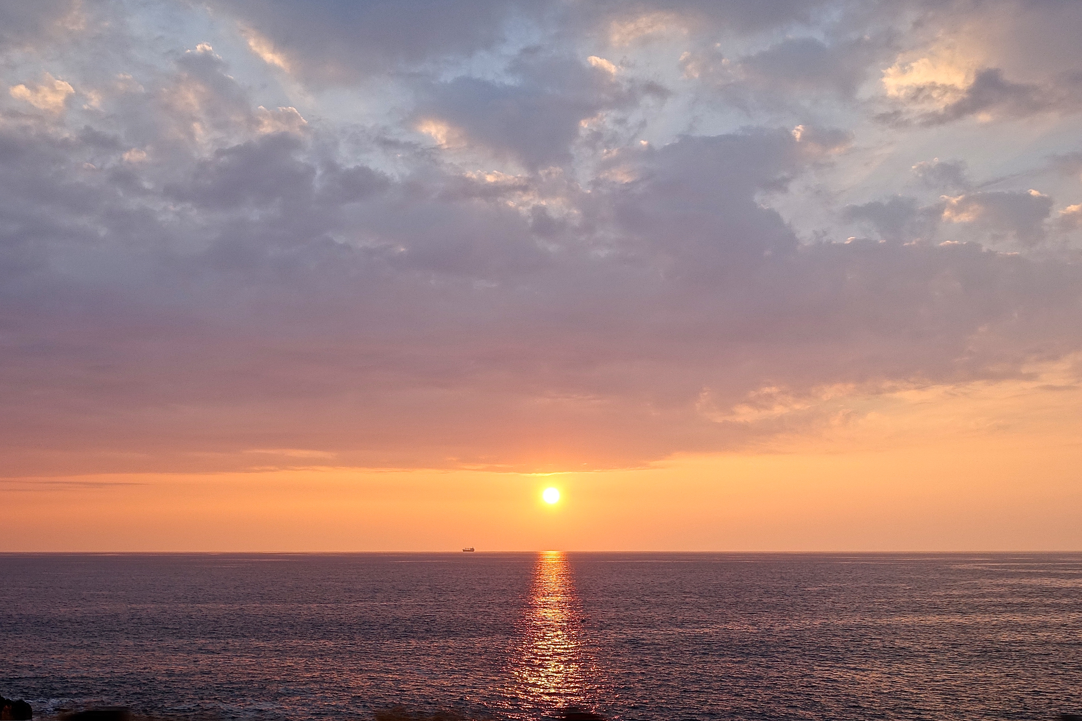 Hawaiian Sunset on Big Island near Hawi