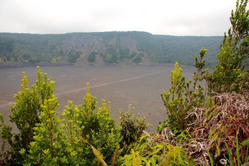 Kilauea Iki Crater from the Overlook