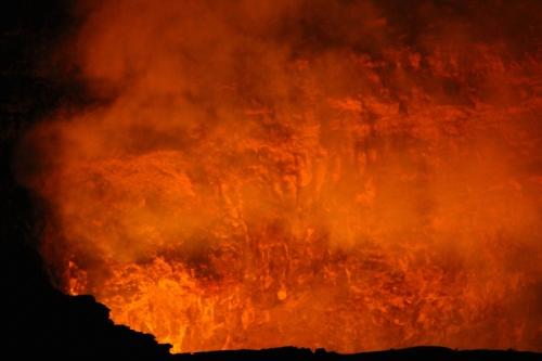 Kilauea Volcano's smoldering caldera 2