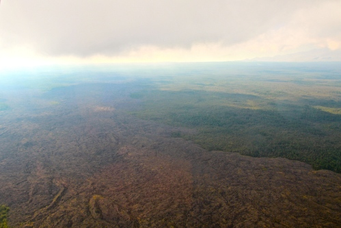 Lava Flow from Kilauea