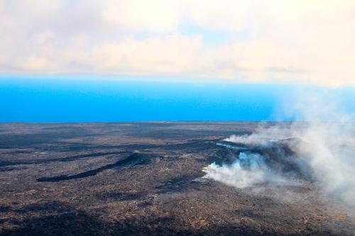 Lava Lake in Mt. Kilauea