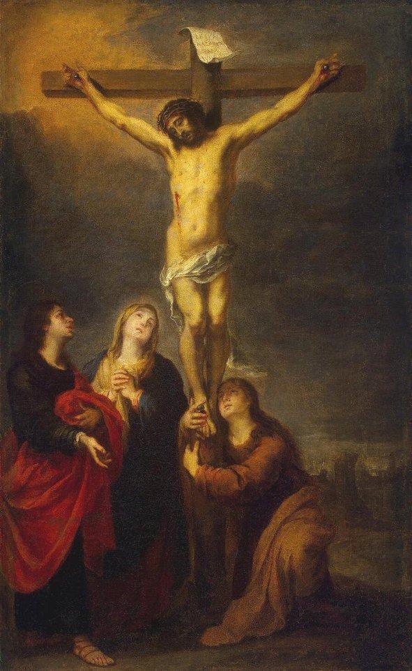 Murillo_Bartolome_Esteban Crucifixion