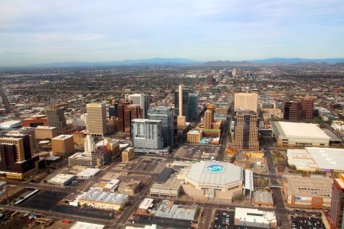Phoenix, AZ Aerial View