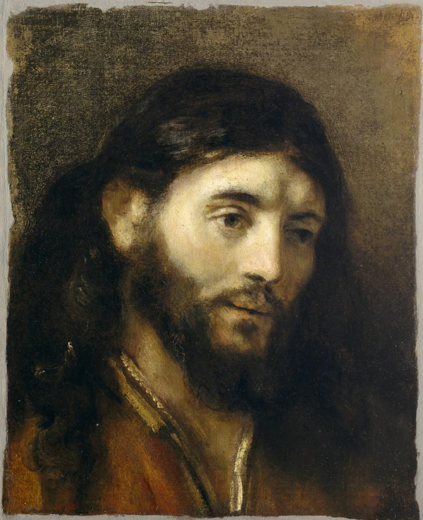 Rembrandt. The Face of Jesus. DIA