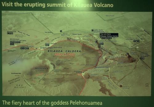Summit of Kilauea Volcano