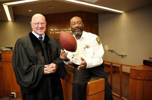 Tony Nathan and Brother in Christ