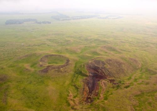 Volcanic Calderas in Hawaii