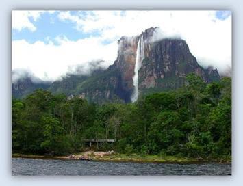 Angel Falls. Venezuela