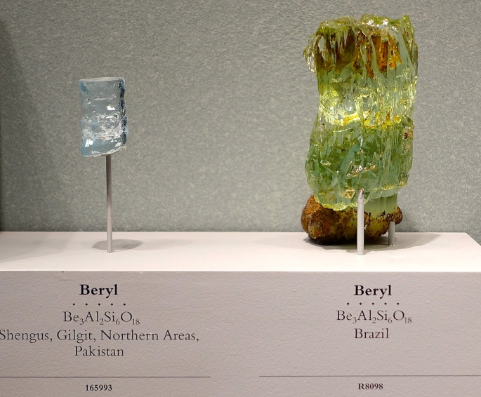 Beryl. National Natural History Museum. Washington D.C.
