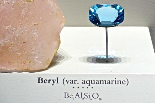 Blue Beryl National Natural History Museum. Washington D.C.
